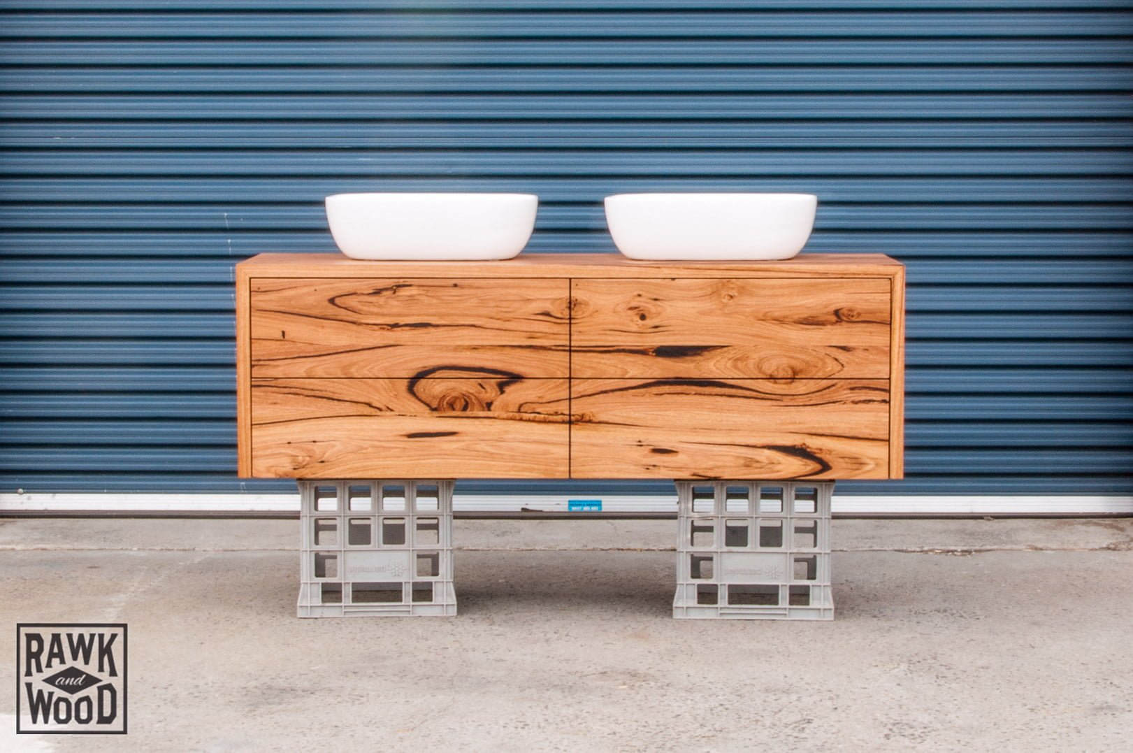 Recycled Timber Vanity Melbourne Timber Bathroom Vanity Rawk And Wood