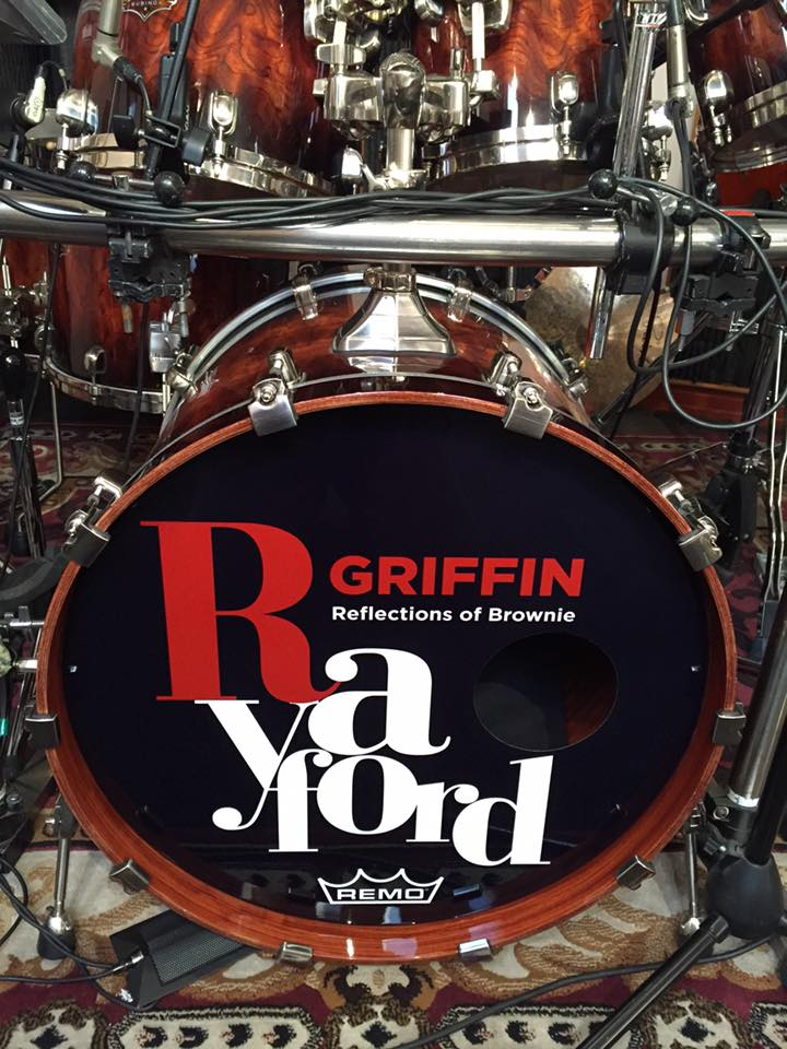 Tama Drum Head, Rayford Griffin