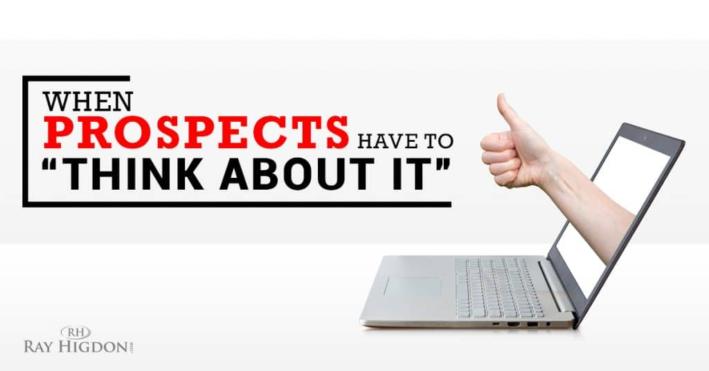 Network Marketing Prospecting Objections \