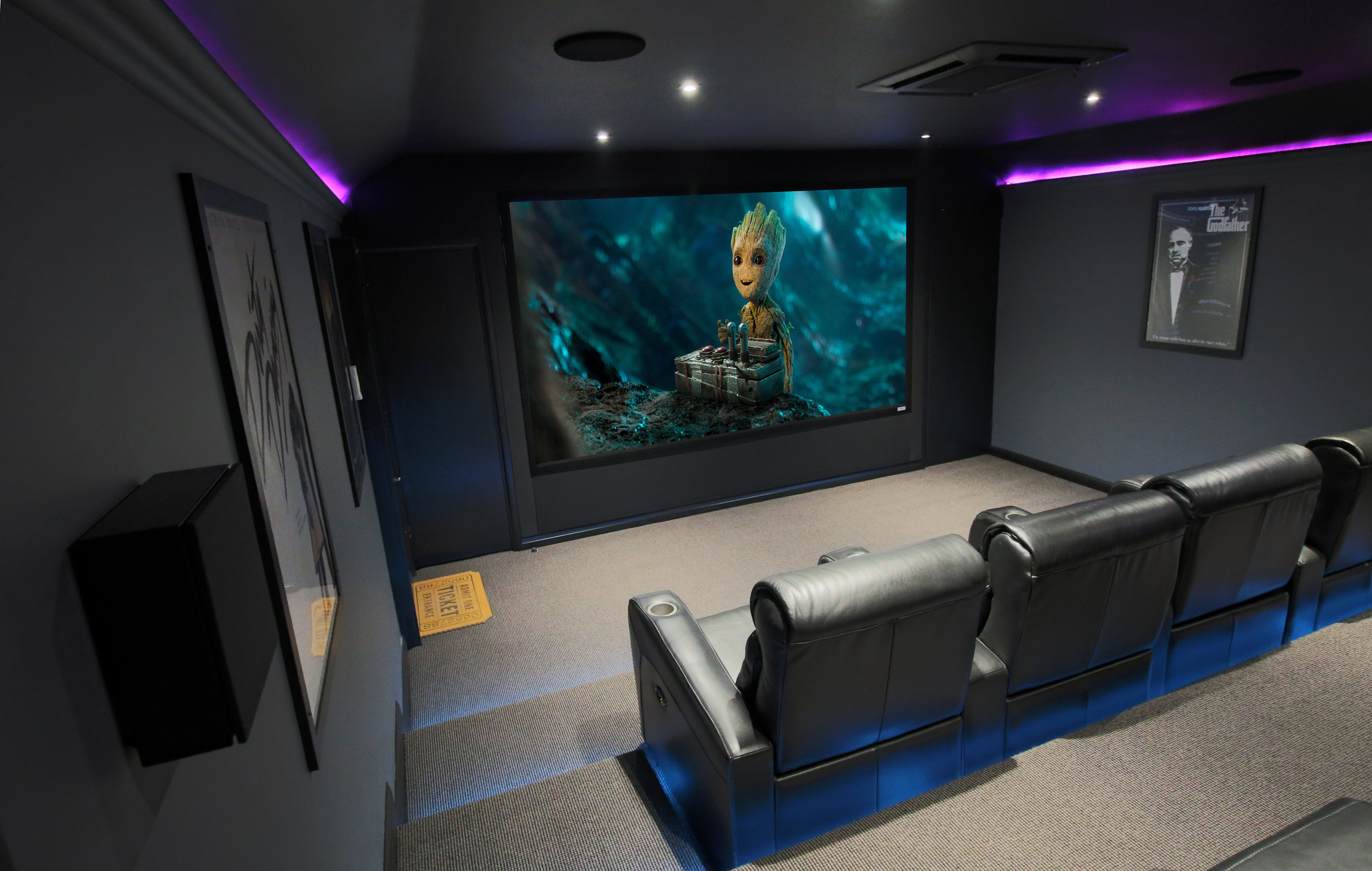 Home Theater Room Hidden Home Cinema Room Essex Rayleigh Hi Fi Sound Vision