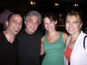 With Steve Gadd, Maddy Ruff and Nina Hennessey