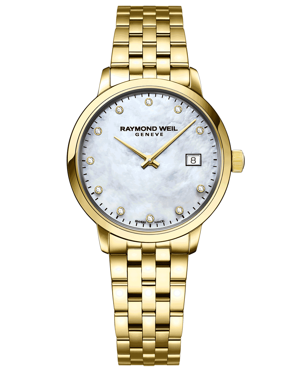 Steel Watch Toccata Ladies Classic Gold 11 Diamond Steel Watch 29mm Store
