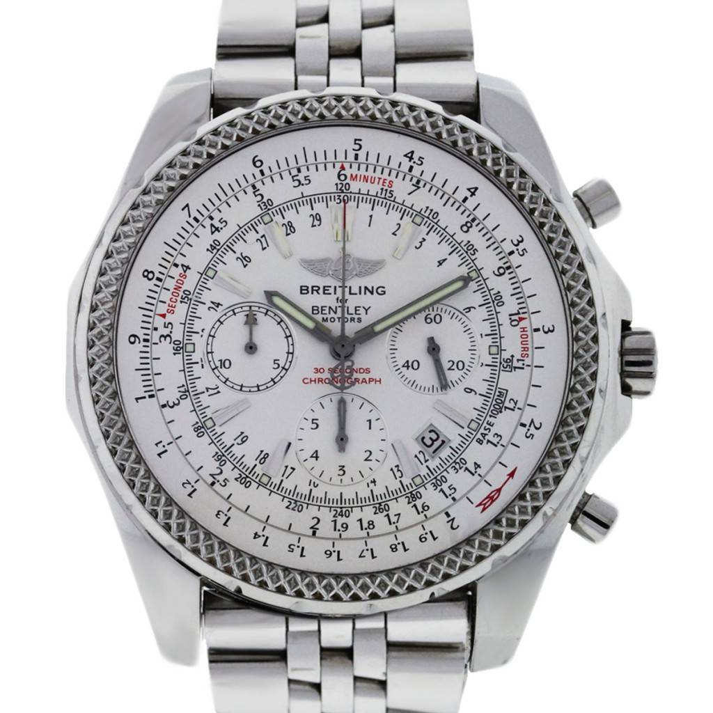 Steel Watch Breitling For Bentley A25362 Special Edition Stainless Steel Watch