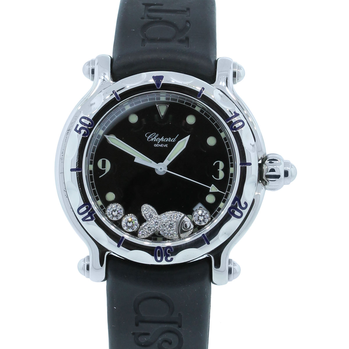 Diamond Watch Chopard Happy Sport 27 8236 23 Diamond Dial Watch