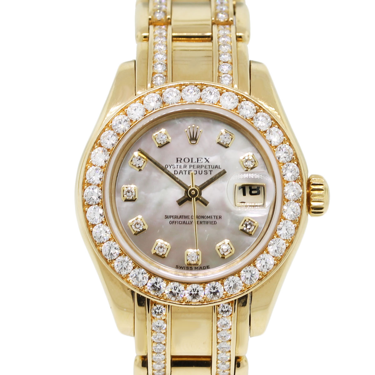 Diamond Watch Rolex 80298 Diamond Masterpiece Ladies Watch