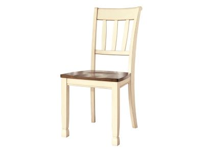 Leland 5-pc. Dining Set - Cottage White / Brown | Raymour ...