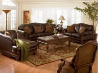 Best Luxury Brown Leather Living Room Sets | Raysa House