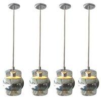 Mercury Glass Pendant Light Fixture