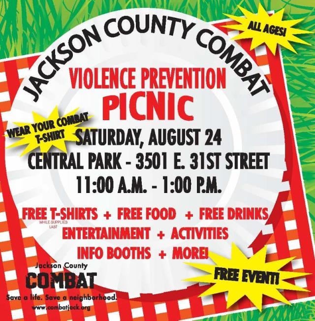 violence prevention picnic