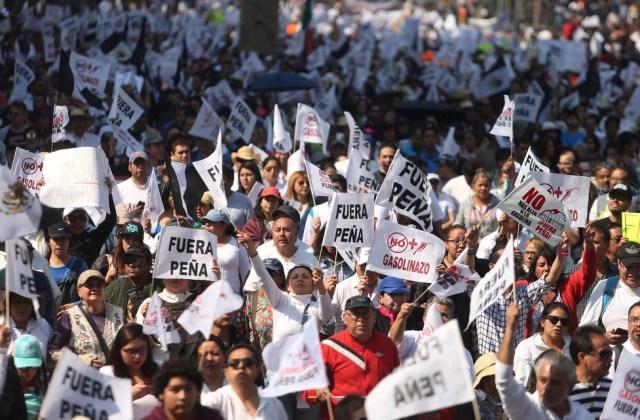 El repudio a Enrique Peña Nieto y a la clase política ya es generalizado.