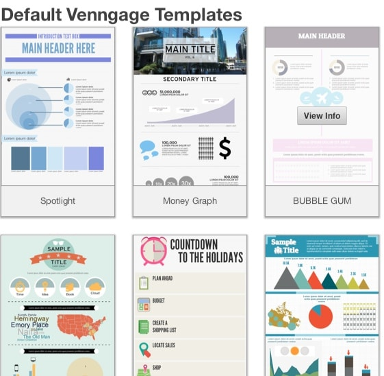 How to Make an Infographic using low cost tools (updated)