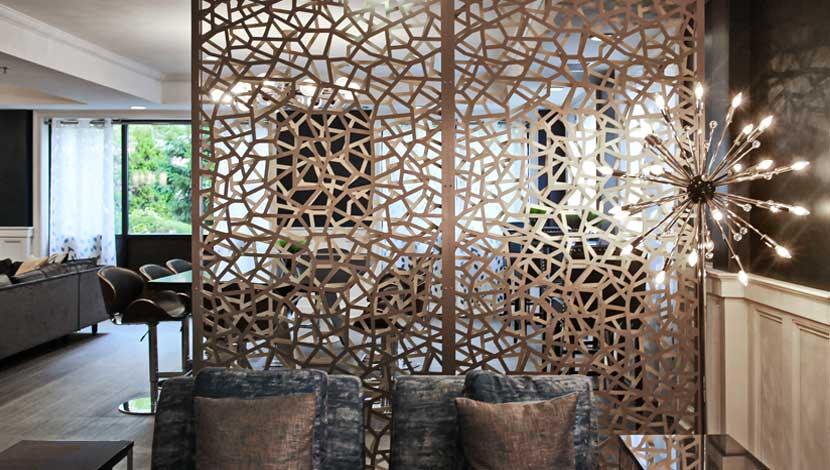 Razor 3d Wallpaper Razortooth Design Llc Architectural Screens Lobby