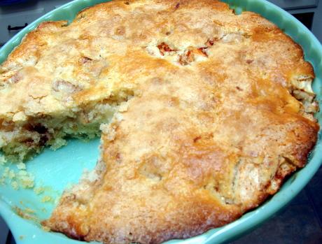easy apple pie, biscuit pie