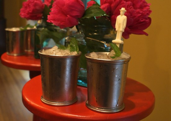 How to make mint juleps