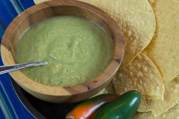 creamy avocado salsa