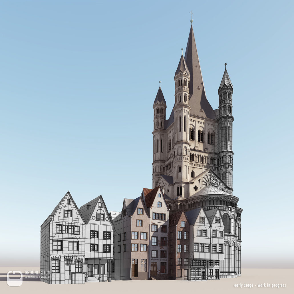Architektur Rendering Köln The Timeride Vr Experience 3d Architectural Visualization