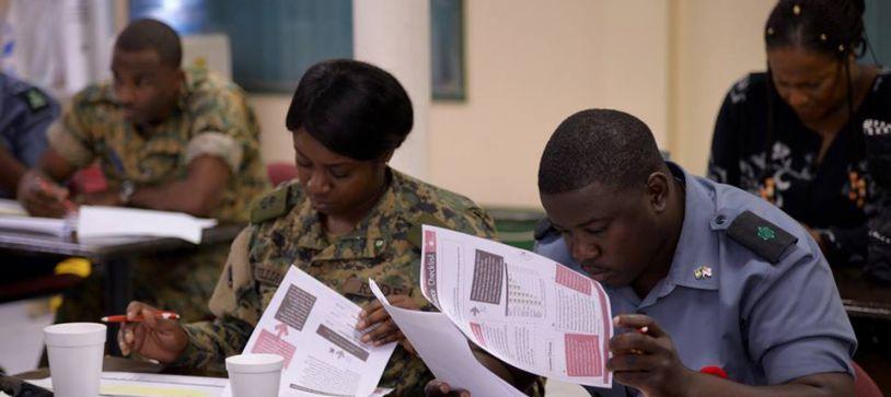 DEFENCE FORCE RANGERS PROGRAM INCLUDES JUNIOR ACHIEVEMENT BAHAMAS RBDF - junior achievement bahamas
