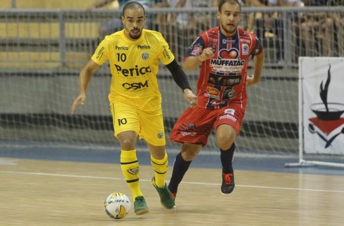 Jaraguá Futsal conquista ponto importante fora de casa ao empatar com Cascavel