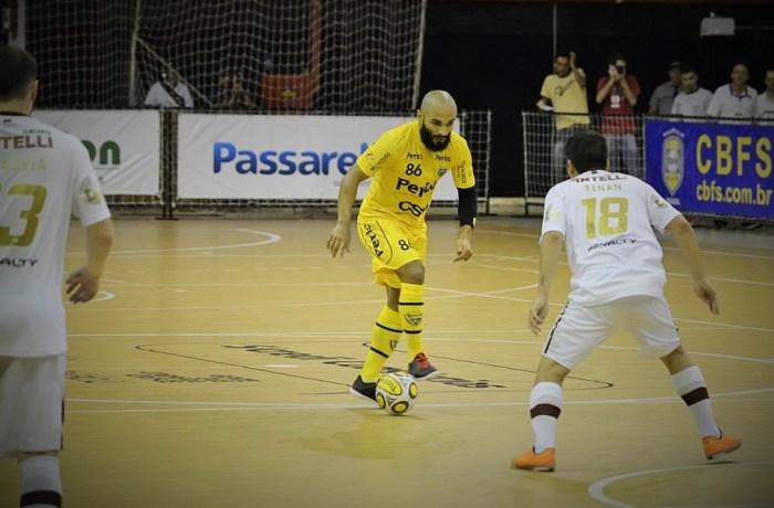 Jaraguá Futsal empata com Orlândia e segue pontuando na LNF
