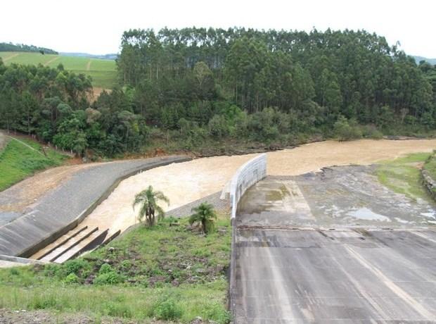 Defesa Civil inicia operação em barragens de SC para receber chuvas