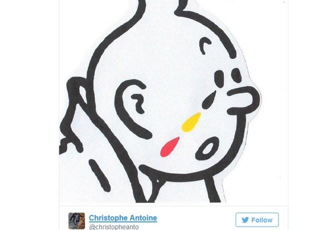 Tintin, personagem belga, é usado em redes sociais para lamentar atentados