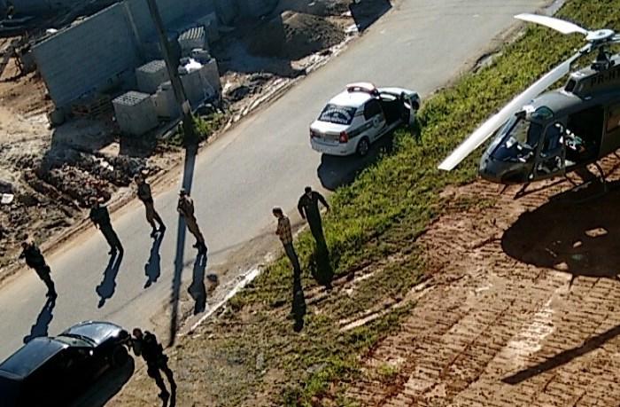 Bandido é morto durante assalto em Guaramirim