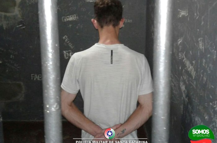 Homem com mandado de prisão e 25 passagens criminais é preso