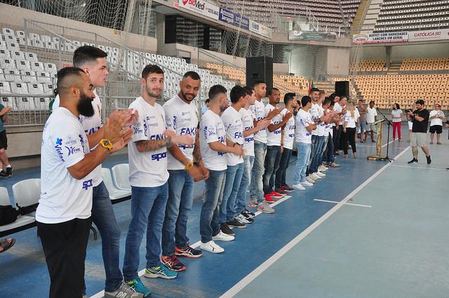 Jaraguá Futsal apresenta sua equipe de trabalho para 2017