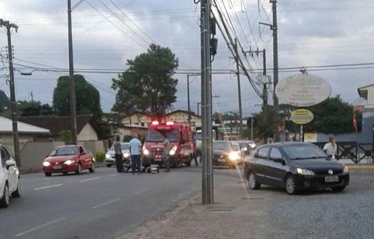 Acidentes deixam dois homens feridos nos bairros Ilha da Figueira e João Pessoa