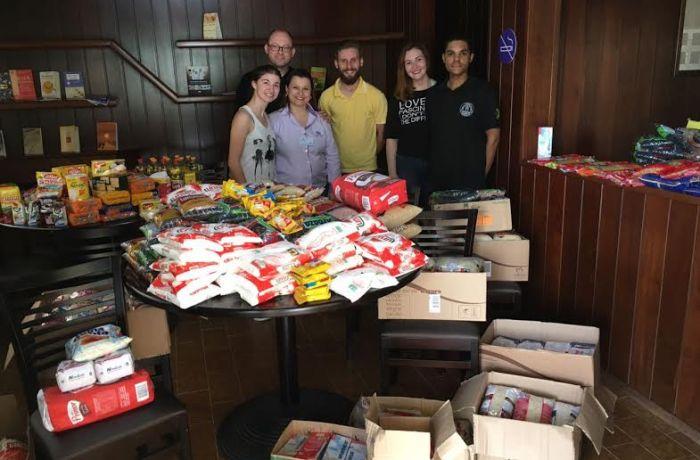 Casa São José recebe doações de alimentos e itens de limpeza