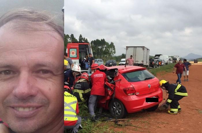 Homem que morreu em acidente será sepultado hoje em Jaraguá do Sul