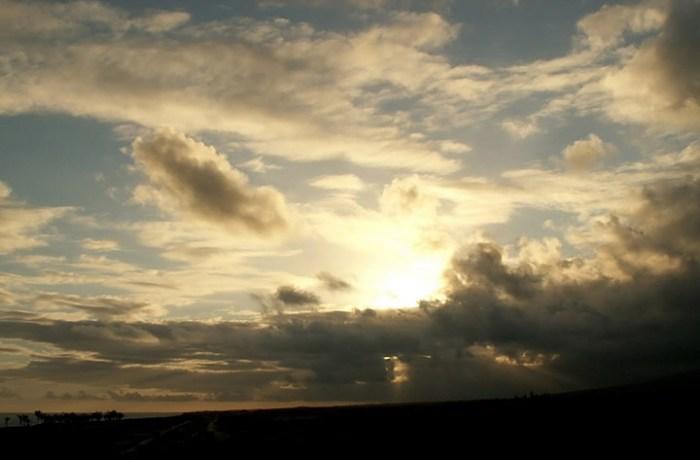 Outubro termina com sol entre nuvens e temperaturas amenas em SC