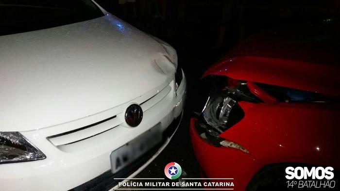 Motorista embriagado e na contramão é preso após acidente em Guaramirim