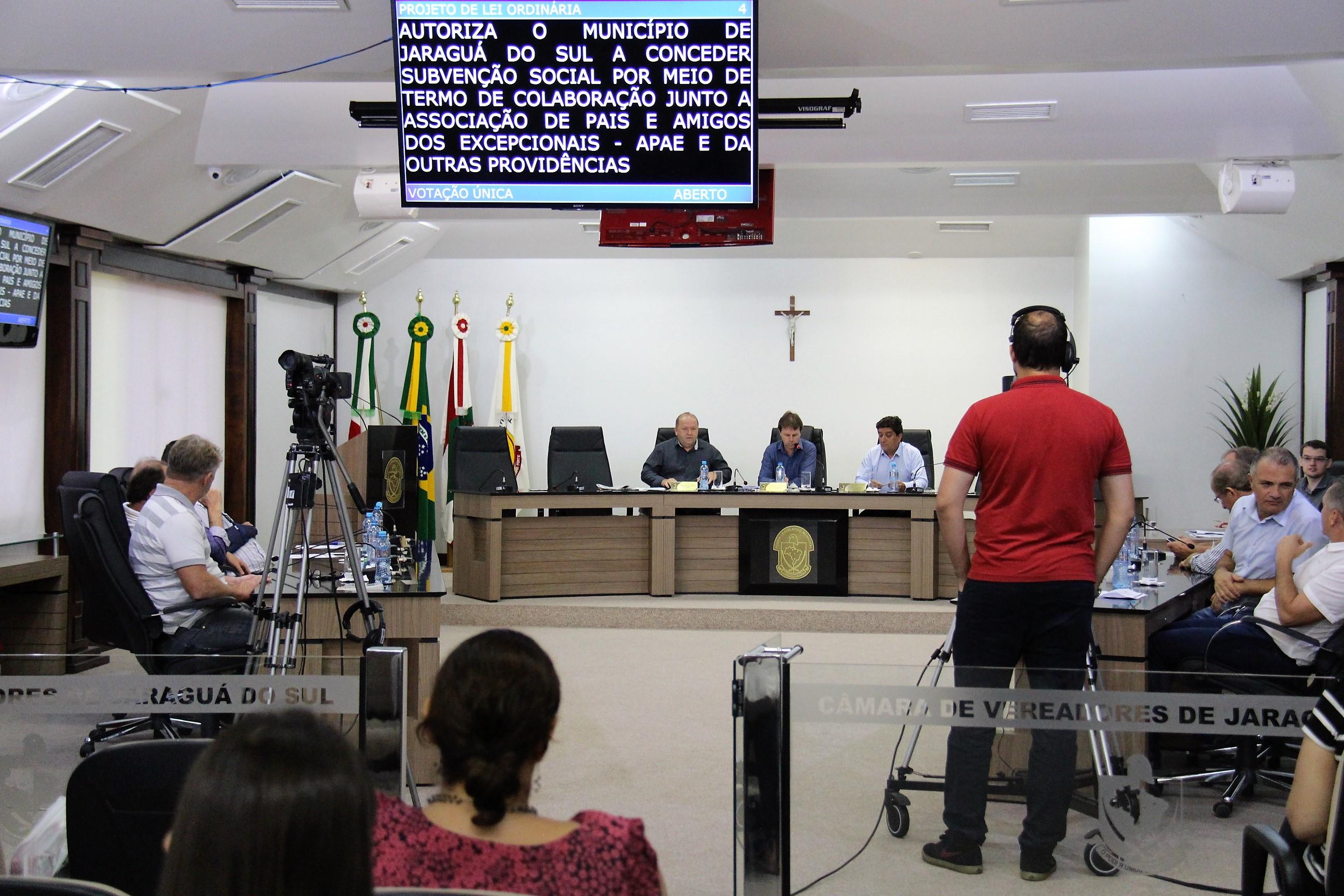 Sessão extraordinária na manhã desta quinta-feira (18) l Foto: Câmara de Vereadores/ Divulgação