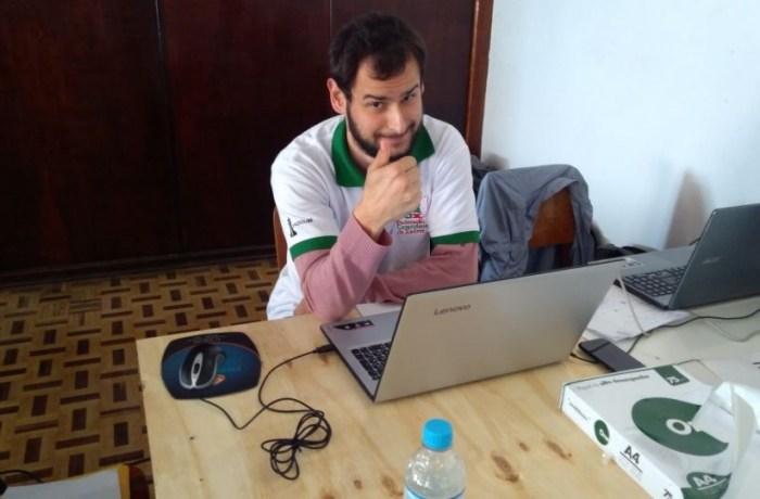 Luciano Rietter será o novo arbitro nacional de Xadrez. l Foto: Divulgação