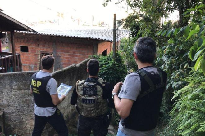 Ação nacional é considerada pelo Ministério da Segurança Pública a maior operação de combate à pedofilia do mundo Foto: Polícia Civil / Divulgação