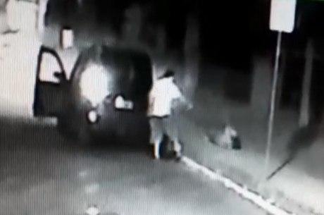 Vídeo mostra homem matando mulher em SP