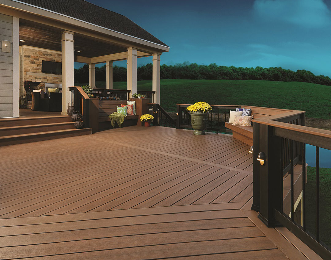 Restaurant Supply Long Island Timbertech Evolutions Rail Builder Available Color Options