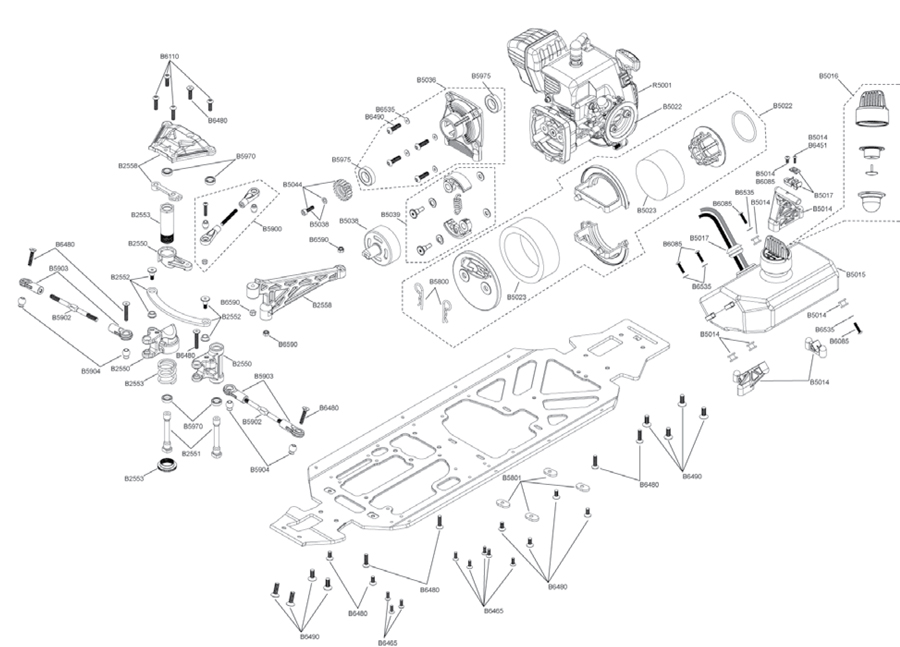 hpi baja 5t parts diagram