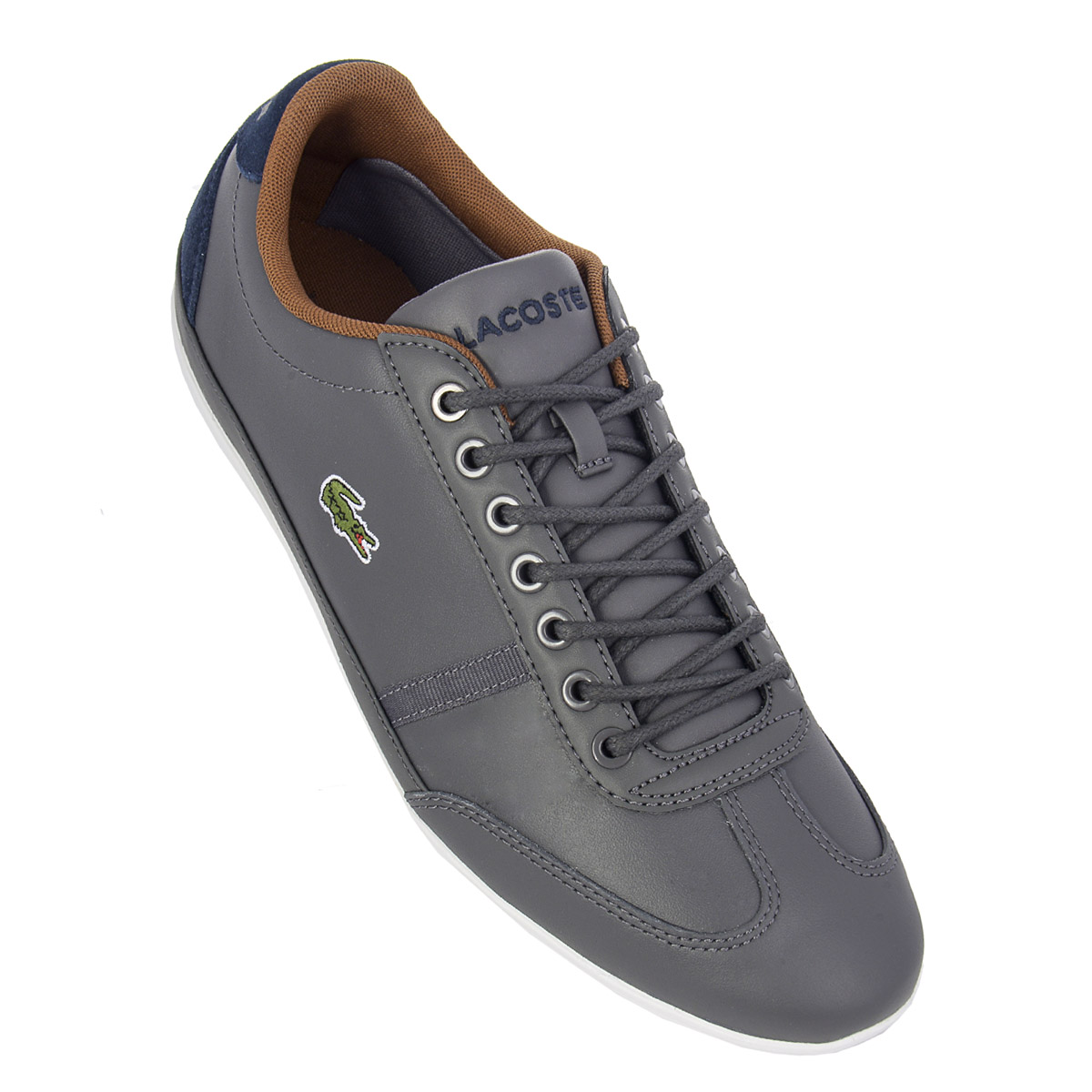 Lacoste Schuhe Details Zu New Lacoste Misano Sport Cam0046248 Mens Shoes Trainers Sneakers Sale