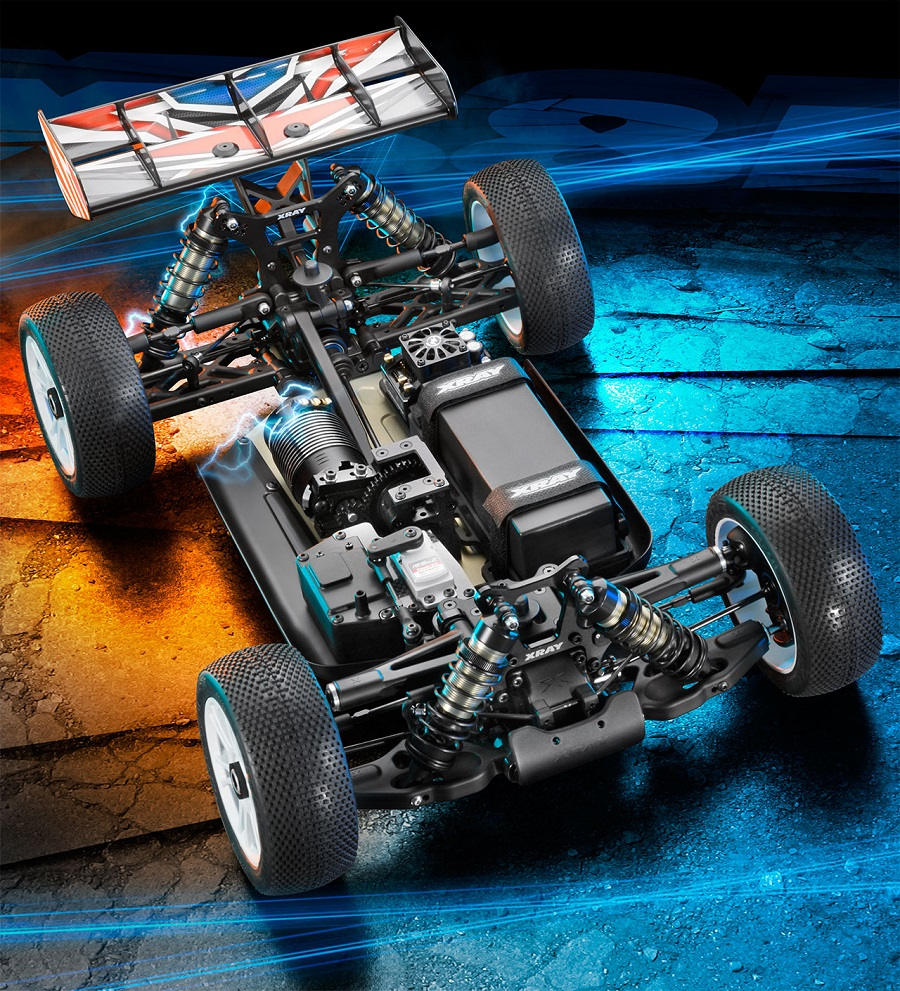 4wd Buggy Rc Xray Xb8e 2018 Electric 4wd 1/8 Buggy - Rc Car Action