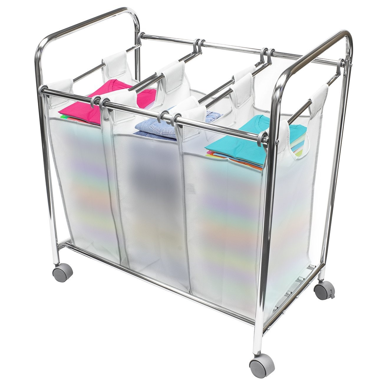 Hamper On Wheels Sorbus Laundry Sorter Cart Basket Hamper On Wheels