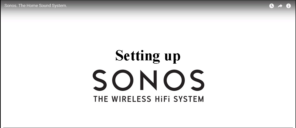 whole home audio system sonos