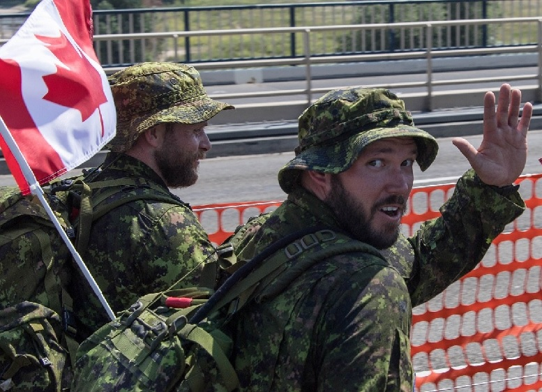Toronto Weather Beards Bare Legs Ponytails Ok For Canadian Military