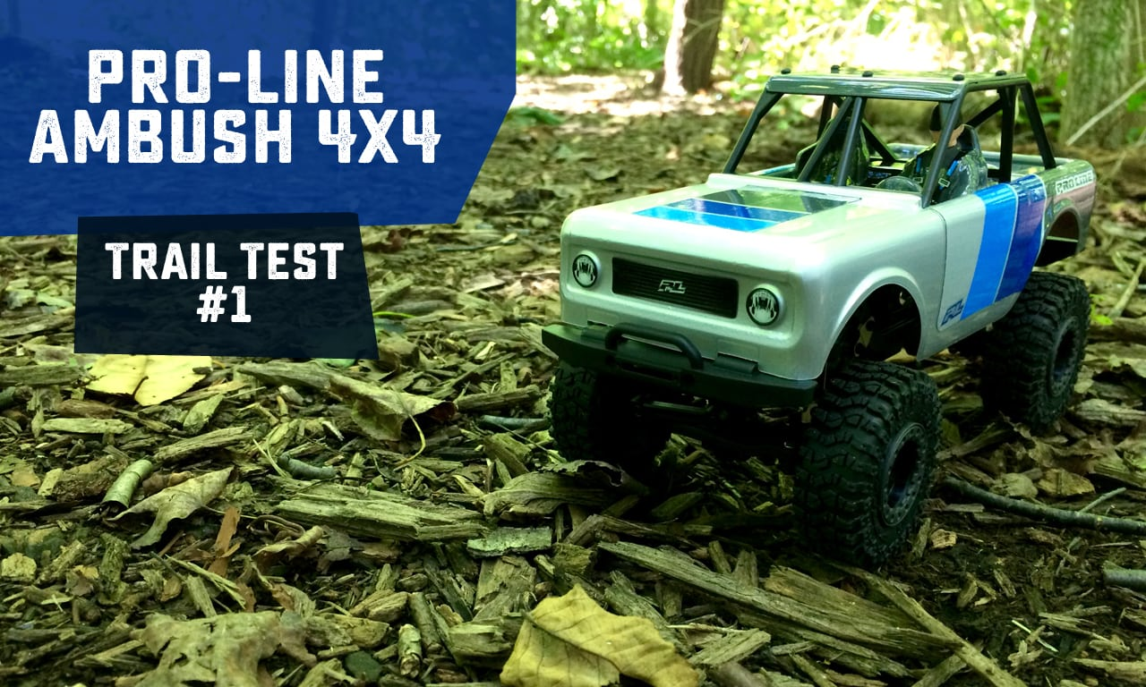 Going Off-road with Pro-Line's Ambush 4×4