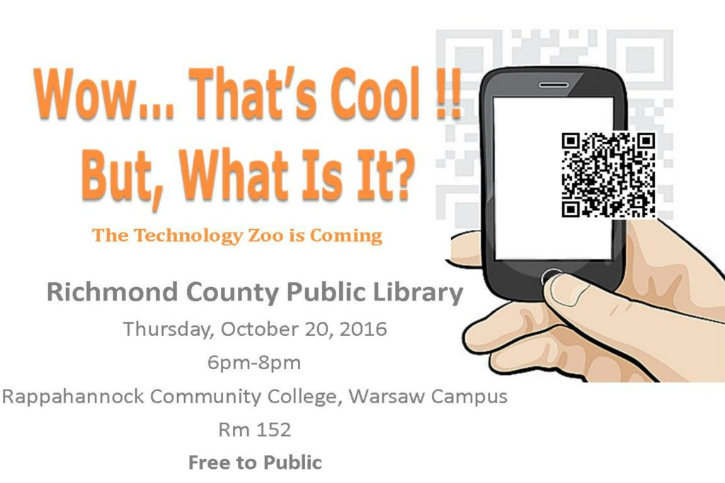 To Learn More About The Upcoming Technology Zoo Click The Above Image