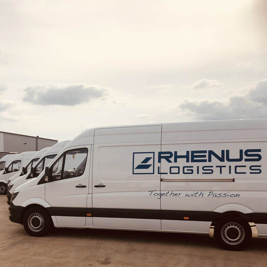 Rhenus Home Delivery Transformation To Rhenus; Van Livery · Rcs Logistics