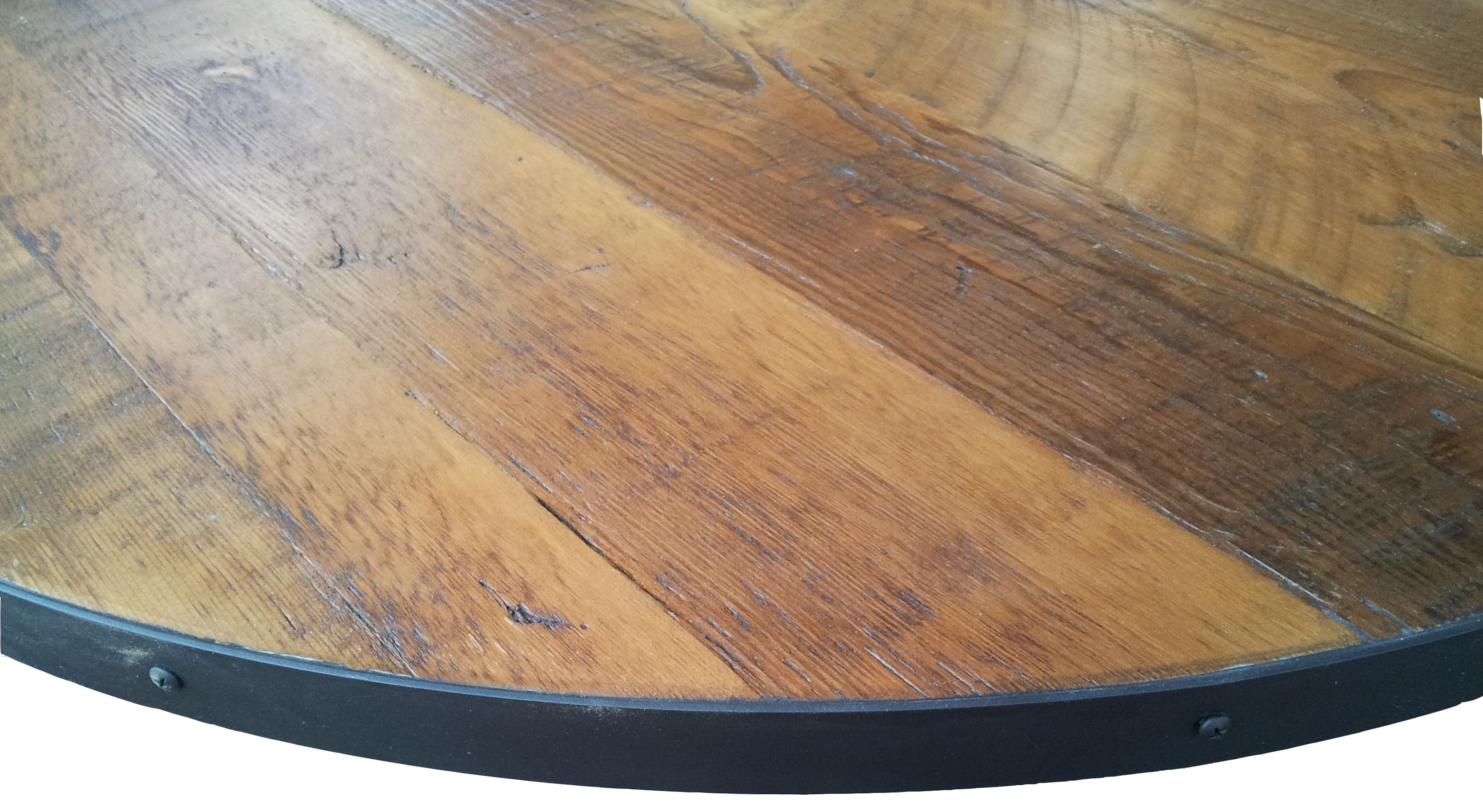Round Table Tops Reclaimed Wood Tabletop Rc Supply Online How To Build