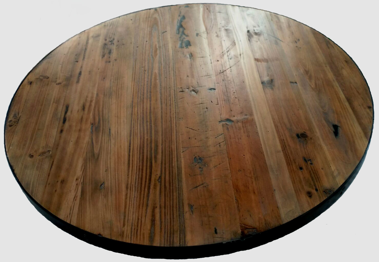 Round Table Tops Reclaimed Wood Round Table Top