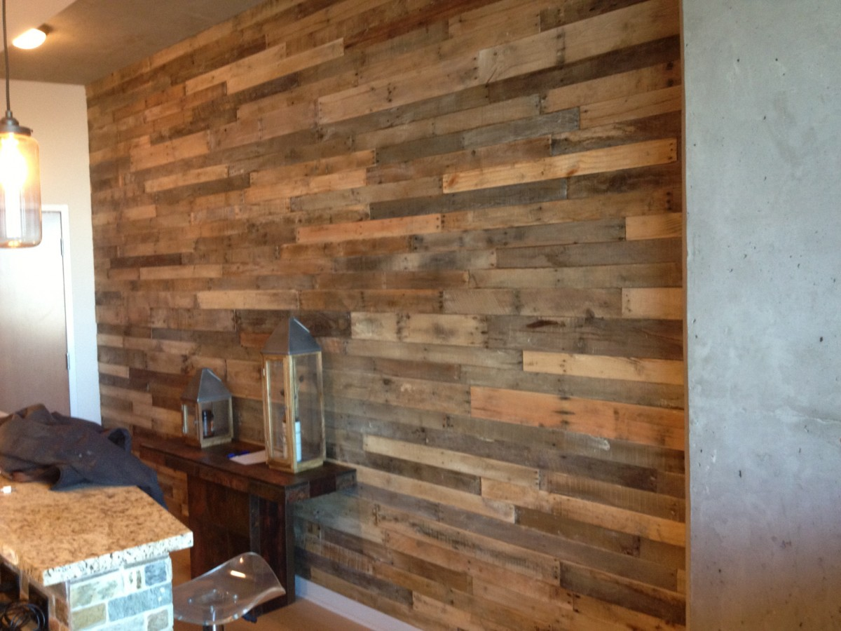 Wall With Wood Add Character To Your Walls With Reclaimed Wood